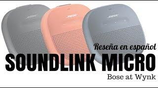 Bose Soundlink Micro - Reseña en español