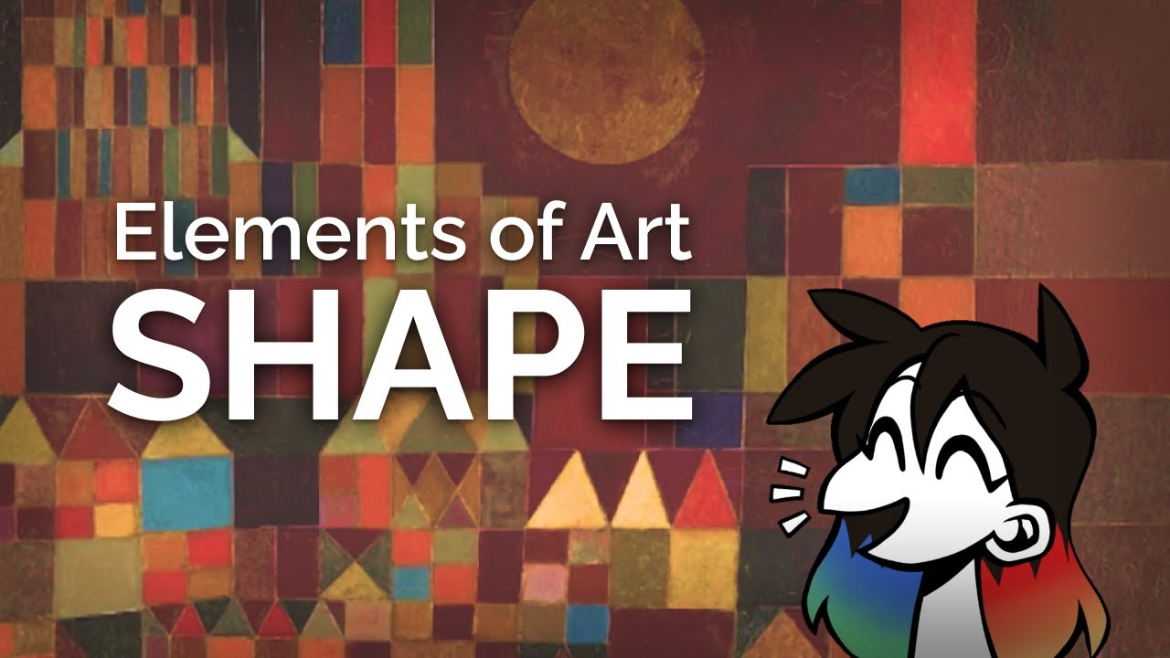 SHAPE: Elements of Art Explained in 7 minutes (funny!)