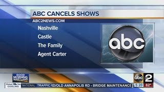 ABC cancels 7 primetime TV shows