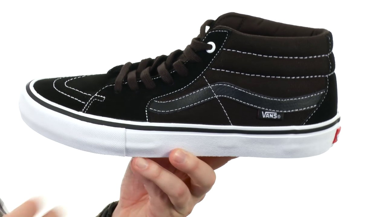 fff7bc3adc Vans Sk8-Mid Pro SKU 8348267 - YouTube