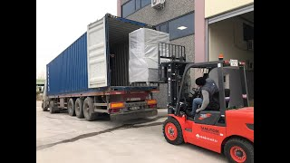 4 of our ice machines shipment to Nigeria