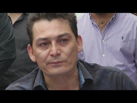 Emotivas palabras de José Manuel Figueroa en conferencia de prensa