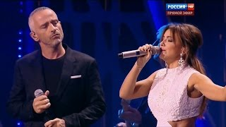 Ани Лорак и Eros Ramazzotti Piu Che Puoi фестиваль Новая Волна 2015 03 10 2015 HD