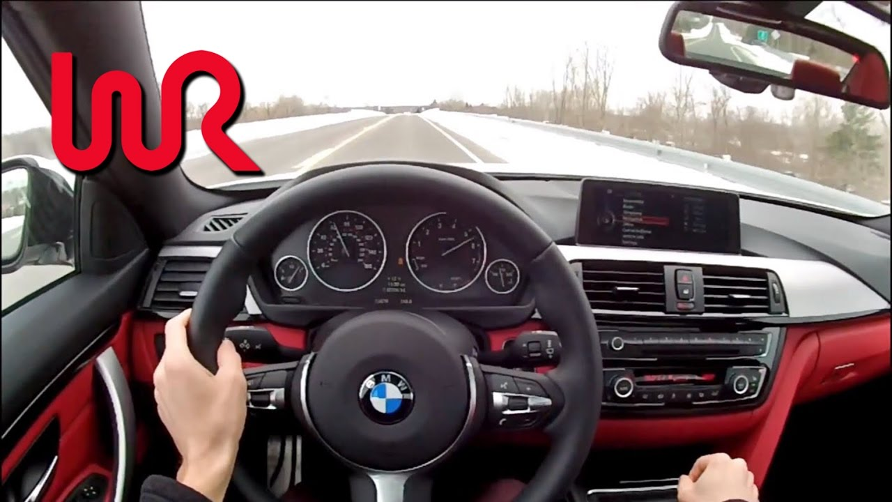 2014 bmw 435i xdrive 6 speed manual wr tv pov test. Black Bedroom Furniture Sets. Home Design Ideas