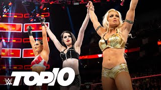 Women's Evolution debuts: WWE Top 10, July 12, 2020