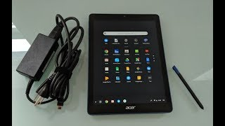 Acer Chromebook Tab 10 Chrome OS tablet review
