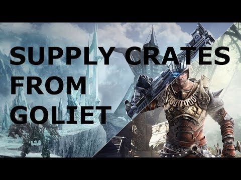 [Elex] Guide - Supply Crates from Goliet - Oran