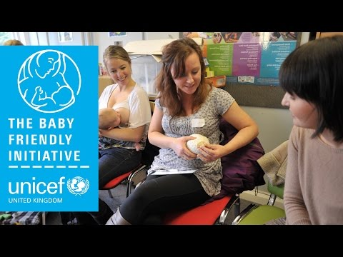 Unicef UK Baby Friendly Initiative | Hand expression