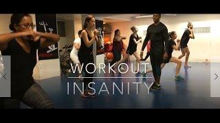 #6 我的Workout運動日記 | INSANITY | 40 minutes Full Version