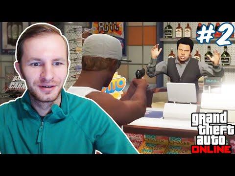 ОГРАБЛЕНИЕ МАГАЗИНА В ГТА 5 ОНЛАЙН | GTA V ONLINE #2