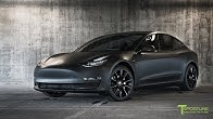 d7e409c85ca6 Tesla Model 3 Customized to look like the Matte Black Model 3 Prototype -  Duration  2 minutes