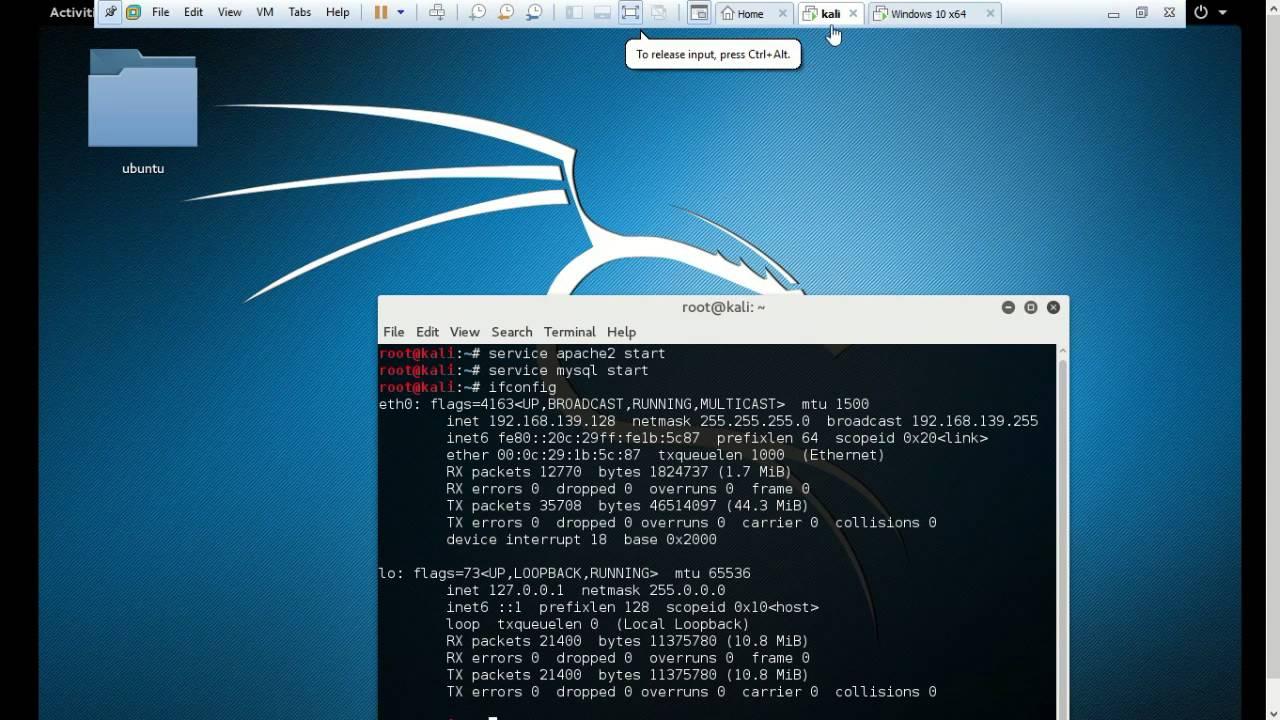 Webservers Footprinting Using Kali Linux  Youtube