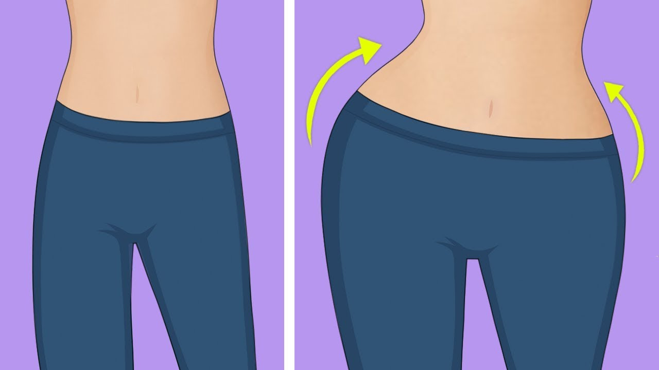 como tener mas caderas y menos cintura