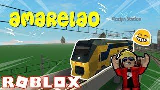 Roblox: Terminal Railways - O meu novo trem (o amarelão)