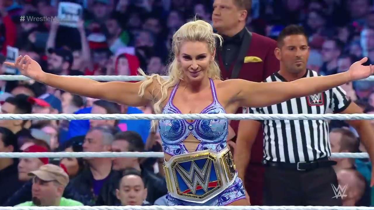 Download FULL MATCH - Ronda Rousey vs. Charlotte Flair vs. Becky Lynch – Triple Threat Match: WrestleMania 35