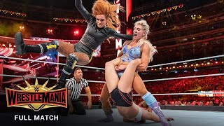 FULL MATCH - Ronda Rousey vs. Charlotte Flair vs. Becky Lynch - Triple Threat Match: WrestleMania 35