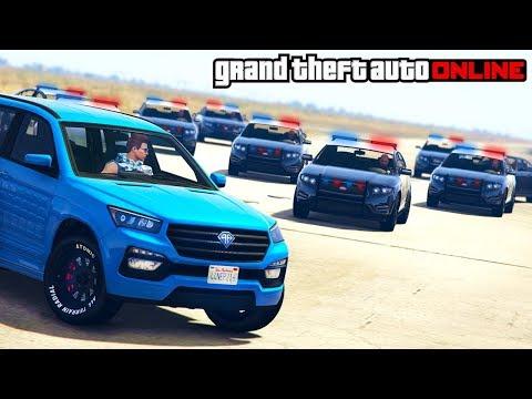 GTA 5 - COPS & ROBBERS CUSTOM GAME MODE (GTA Online Funny Moments & Fails)