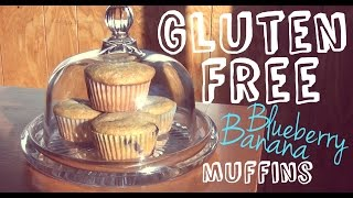 Blueberry Banana Muffins ♥ Gluten Free Treats