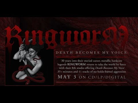 """Ringworm debut new song """"Death Becomes My Voice"""" off new album """"Death Becomes My Voice""""!"""