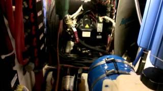 Aqua hot combustion blower motor(2)