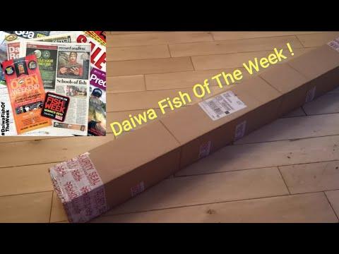 I WON 'FISH OF THE WEEK'!