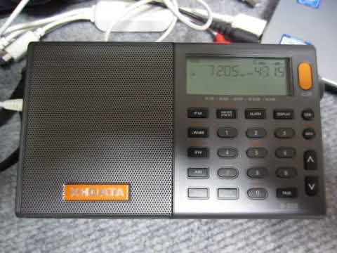 XHDATA D-808 7205kHz Sudan Radio (Presumed) Part 1