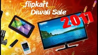 Flipkart Diwali Sale 2017 ! BUMPER OFFERS on TV , FRIDGE , A/C , COOLER , LED ETC