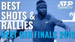 Top 10 Best Shots & Rallies! | Next Gen ATP Finals 2019