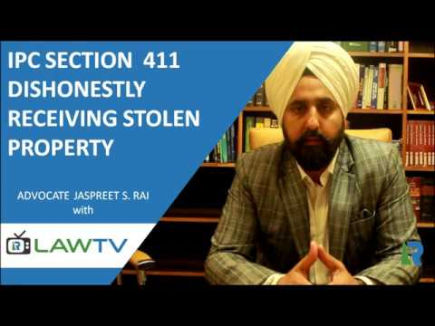 Indian Kanoon - IPC Section 411 Dishonestly receiving stolen property - आईपीसी धारा 411 - LawRato