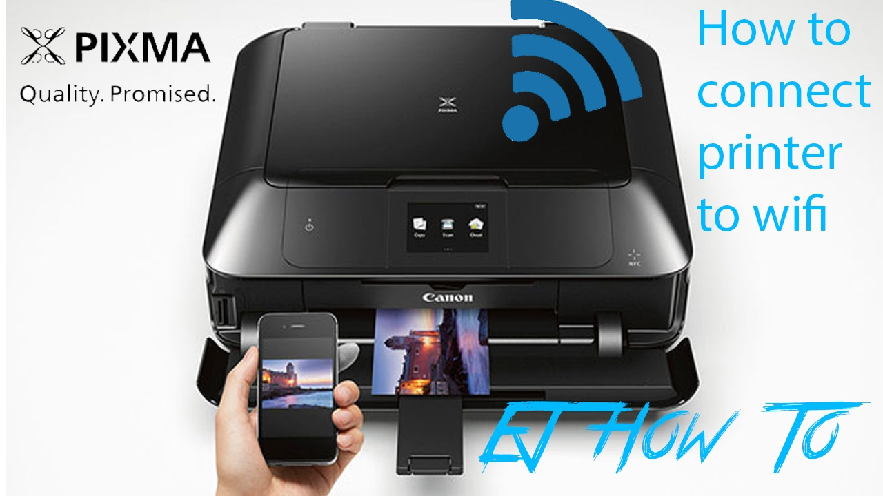 How To Connect My Phone To My Canon Pixma Printer - Phone ...