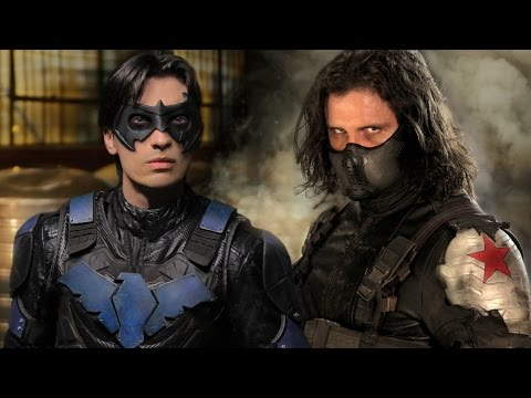 NIGHTWING vs WINTER SOLDIER - Super Power Beat Down (Episode 19)