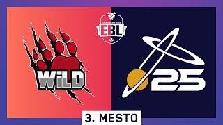 EBL LoL 3. MESTO - WILD vs X25 Esports (Bo5) w/ Sa1na, Micko i Djordje Djurdjev