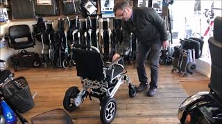 Foldachair Pro Auto Automatic folding Powerchair