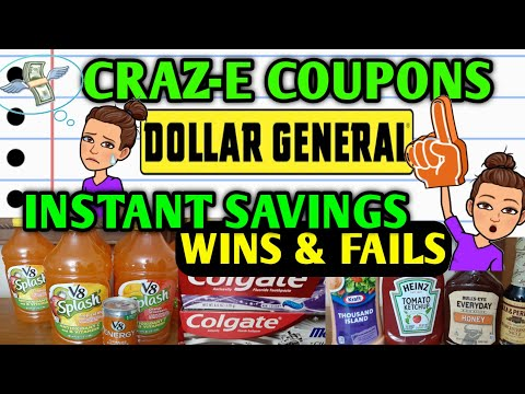 🤔INSTANT SAVINGS DEALS🤷♀️DOLLAR GENERAL COUPONING THIS WEEK 6/13-6/19🤑LEARN HOW TO COUPON🤑
