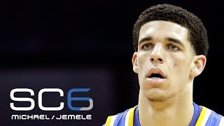 Michael Smith Has No Problem With Lonzo Ball Passing On Celtics' Workouts   SC6   May 25, 2017