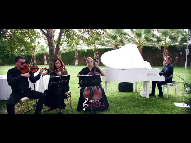 🎹 Piano Blanco de Cola y Trio de Cuerda | Violines para Bodas | Musicos para Bodas