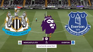 FIFA 21 Newcastle United vs Everton Premier League 2020 21 Match week 7 Full Match Gameplay
