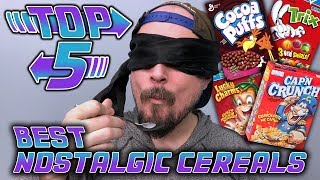 Top 5 Best Nostalgic Cereals