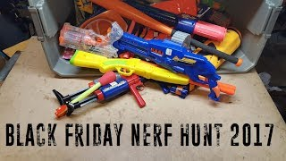 Black Friday GoodWill Nerf Hunt