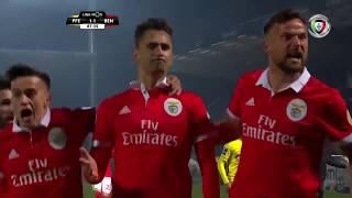 Resumo: Paços Ferreira 1-3 Benfica (Liga 24ªJ)