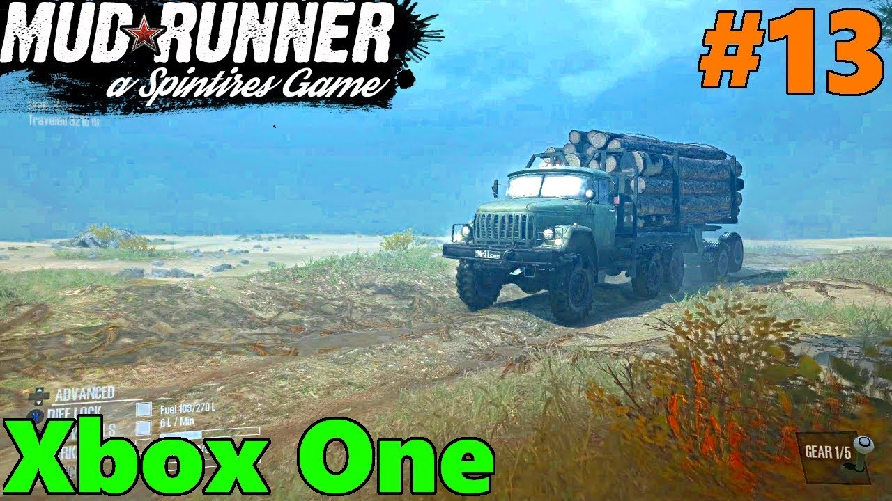 spintires mud runner xbox one let 39 s play part 13. Black Bedroom Furniture Sets. Home Design Ideas