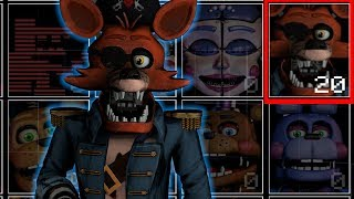Captain Foxy in UCN! FNaF VR (UCN Mods)