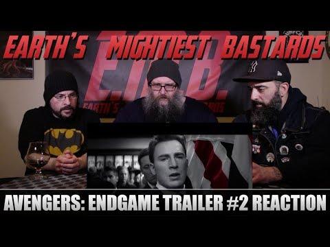 Trailer Reaction: Avengers: Endgame Trailer 2 Reaction