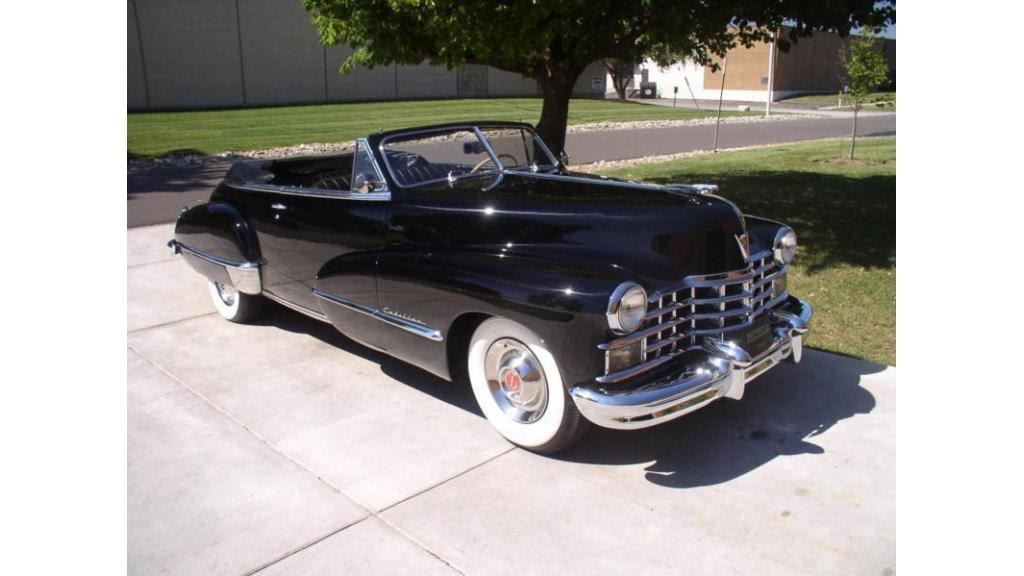1946 Cadillac Convertible Coupe - YouTube  1946 Cadillac C...
