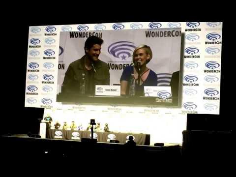 Sean Maher & Kari Wahlgren Talk Nightwing & Starfire Lines Teen Titans Judas Contract WonderCon 2017