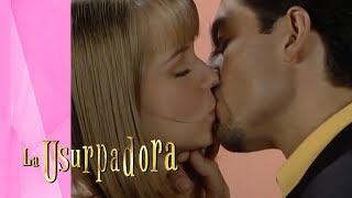 Paulina y Carlos Daniel no pueden ocultar su amor La Usurpadora Televisa