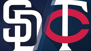 Twins belt seven HRs in 16-0 win over Padres: 9/12/17