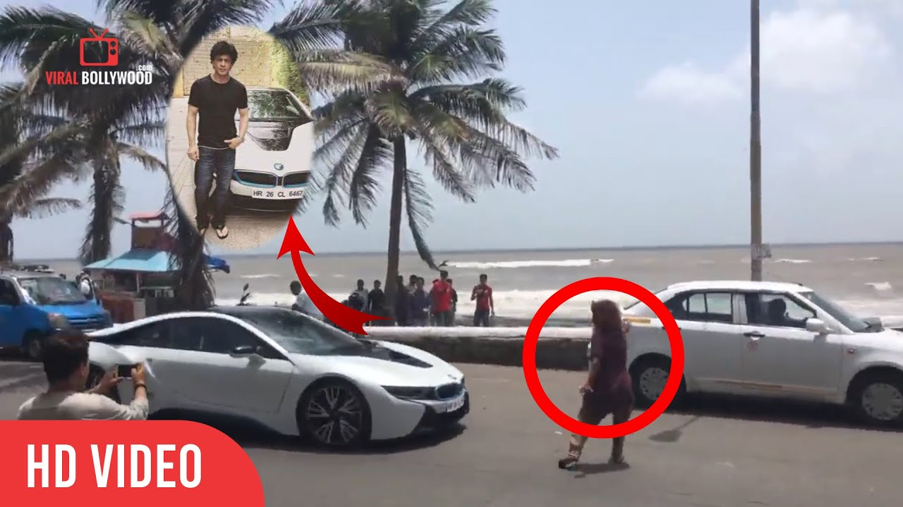 how shahrukh saved a girl must watch driving bmw bandra rh youtube com