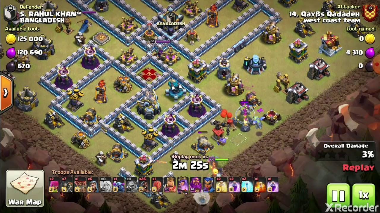 Coc th 13 best hog attack (2)|| 2020 best attack|| Hog ...