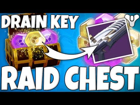 "Destiny 2 - ""DRAIN KEY"" Secret Chest Location In LEVIATHAN RAID! (How To Get Drain Key Raid Chest )"